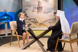 Митрополит Владимир на 12 канале_Омск_IMG_3601_февраля 13, 2015_9