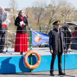 20170428 012 Молитва перед началом всякого дела открытие сезона навигации на Иртыше Омск IMG_4281