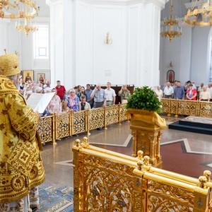 180728 032 День крещения Руси Собор Успения Омск митр. Владимир (Иким) IMG_7656