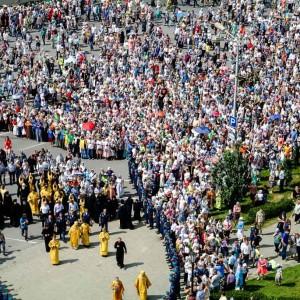 180729 130 Крестный ход Собор Успения Омск митр. Владимир (Иким) 2077