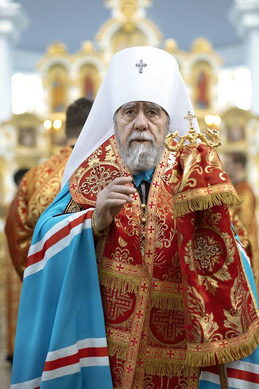 Литургия в соборе Успения Пресвятой Богородицы в праздник Николая Чудотворца(1)