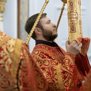 Литургия в соборе Успения Пресвятой Богородицы в праздник Николая Чудотворца(10)