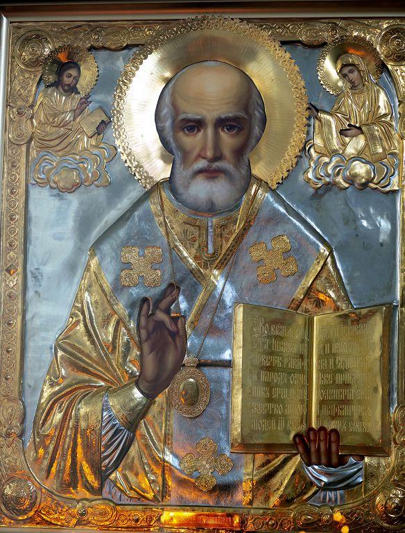Литургия в соборе Успения Пресвятой Богородицы в праздник Николая Чудотворца(11)