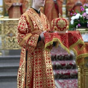 Литургия в соборе Успения Пресвятой Богородицы в праздник Николая Чудотворца(13)