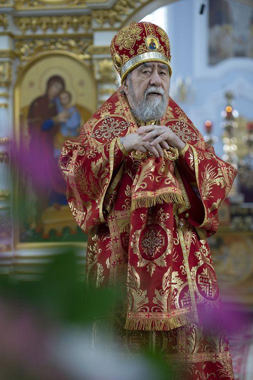 Литургия в соборе Успения Пресвятой Богородицы в праздник Николая Чудотворца(31)