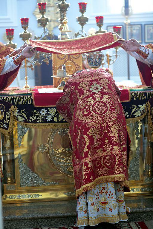 Литургия в соборе Успения Пресвятой Богородицы в праздник святых Кирилла и Мефодия.(22)