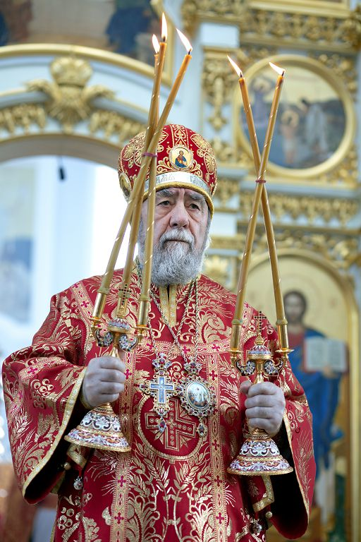 Литургия в соборе Успения Пресвятой Богородицы в праздник святых Кирилла и Мефодия.(23)