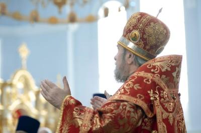 Литургия в соборе Успения Пресвятой Богородицы в праздник святых Кирилла и Мефодия.(6)