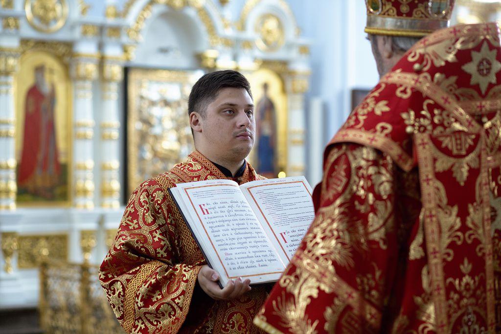 Литургия в соборе Успения Пресвятой Богородицы в праздник святых Кирилла и Мефодия.(7)
