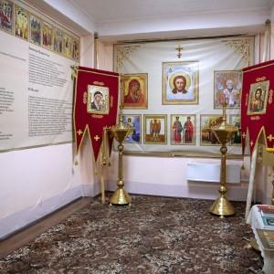 Освящение креста и купола храма святых Бориса и Глеба в военной части 48-й отдельной железнодорожной бригады(36)
