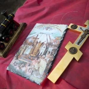 Освящение креста и купола храма святых Бориса и Глеба в военной части 48-й отдельной железнодорожной бригады(5)