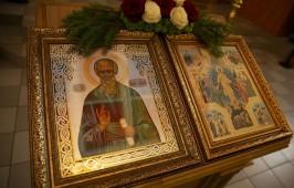 Храм Омской духовной семинарии отметил свой престольный праздник