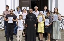 Состоялся экзамен церковных звонарей