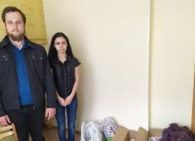 """""""Рука помощи"""" заботится о многодетной семье"""