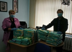 Помощь православных волонтеров для детской больницы