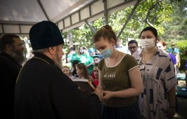 Митрополит Владимир посетил Школу социального проектирования