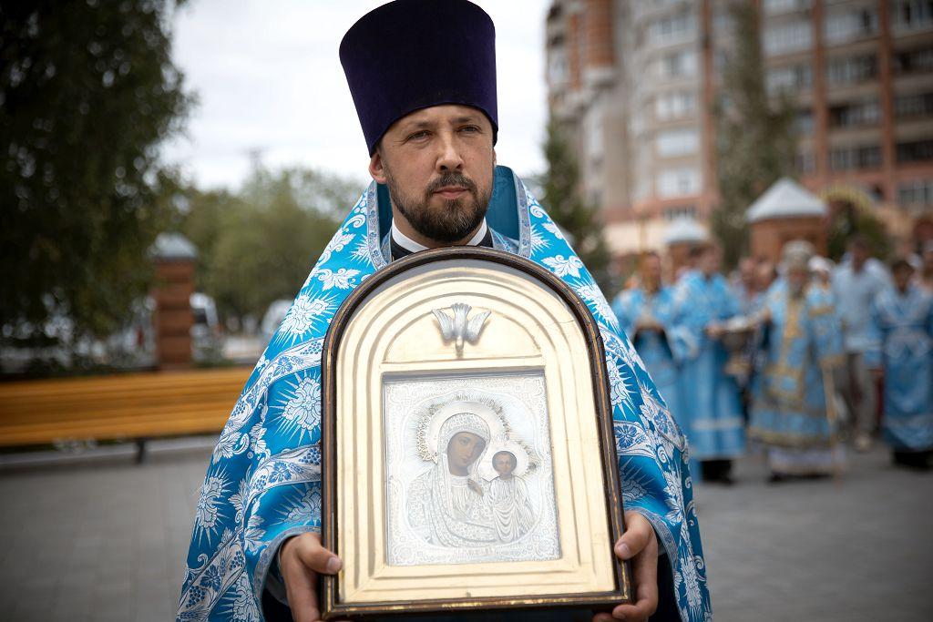 2020.07.21 Литургия в праздник Казанской БМ в Казанском Соборе(25)