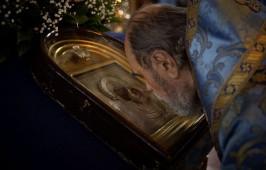 В праздник Казанской иконы Божией Матери митрополит Владимир совершил Литургию в Казанском соборе