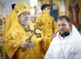 В день праздника Крещения Руси митрополит Владимир отслужил Литургию в Успенском кафедральном соборе