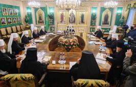 Послание  Священного Синода Русской Православной Церкви  епископату, клиру, монашествующим и мирянам  в связи с нашедшим в этом году вредоносным поветрием
