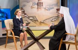 20 октября в 17.20 состоится прямой эфир с митрополитом Владимиром