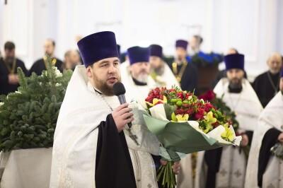 2021.01.08 Успенский собор. Поздравление духовенства(31)