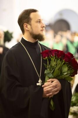 2021.01.08 Успенский собор. Поздравление духовенства(32)