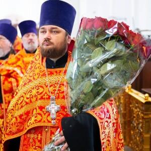 2021.05.04 Вечерня в Успенском соборе.Поздравления с Пасхой(17)