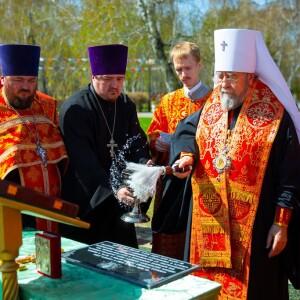 2021.05.06 Закладка камня колокольни храма св. Дмитрия Донского при танковом институте(37)