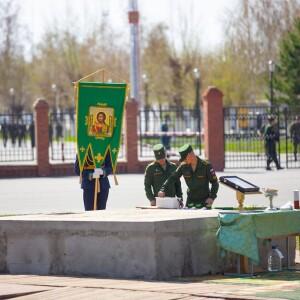 2021.05.06 Закладка камня колокольни храма св. Дмитрия Донского при танковом институте(4)