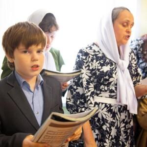 2021.05.07 поздравление с Пасхой в школе славянской письменности св. Кирилла и Мефодия(27)