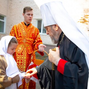 2021.05.07 поздравление с Пасхой в школе славянской письменности св. Кирилла и Мефодия(5)