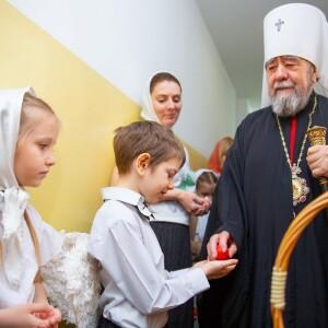 2021.05.07 поздравление с Пасхой в школе славянской письменности св. Кирилла и Мефодия(7)