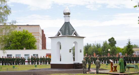 2021.06.25 освящение колокольни при храме св. Димитрия Донского при танковом институте(14)