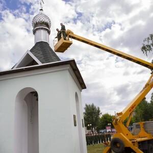 2021.06.25 освящение колокольни при храме св. Димитрия Донского при танковом институте(49)