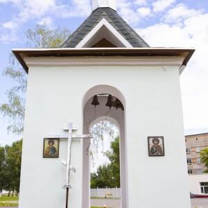 2021.06.25 освящение колокольни при храме св. Димитрия Донского при танковом институте(5)