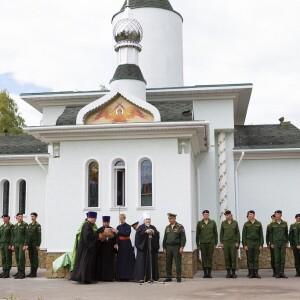 2021.06.25 освящение колокольни при храме св. Димитрия Донского при танковом институте(58)