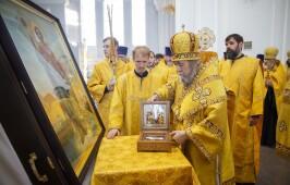В Успенский кафедральный собор прибыли мощи святого благоверного князя Александра Невского