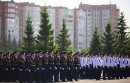 Митрополит Владимир принял участие в выпускном акте в Омской академии МВД России