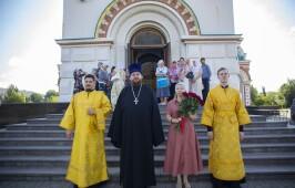 В Неделю 3-ю по Пятидесятнице митрополит Владимир совершил Литургию в Успенском кафедральном соборе