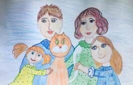 Подведены итоги регионального конкурса рисунков для дошкольников «Мой мир – моя семья»