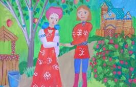 Региональный конкурс детских рисунков «Семья, любовь, верность», посвящённый памяти Святых Петра и Февронии для школьников завершен