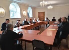 Заседание Организационного комитета Регионального этапа XXX Международных Рождественских образовательных чтений