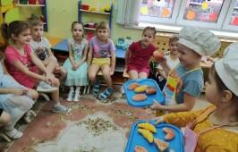 Дошкольники отметили международный день хлеба