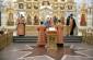 В Неделю в 4-ю по Пасхе митрополит Владимир совершил Литургию в Успенском кафедральном соборе