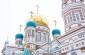 В день памяти благоверного князя Александра Невского митрополит Владимир совершил Литургию в Успенском кафедральном соборе
