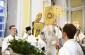 Митрополит Владимир совершил великую вечерню в Свято-Никольском казачьем соборе
