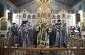В среду первой седмицы Великого поста митрополит Владимир совершил Литургию Преждеосвященных Даров в Казанском соборе