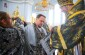 В Великую Среду митрополит Владимир совершил Литургию Преждеосвященных Даров в Успенском кафедральном соборе