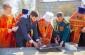 Митрополит Владимир освятил закладной камень колокольни в Омском автобронетанковом инженерном институте